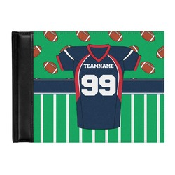 Football Jersey Genuine Leather Guest Book (Personalized)