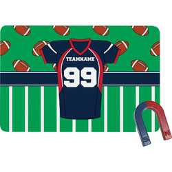 Football Jersey Rectangular Fridge Magnet (Personalized)