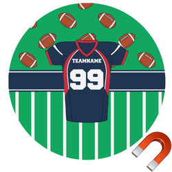 Football Jersey Car Magnet (Personalized)