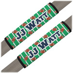 Football Jersey Seat Belt Covers (Set of 2) (Personalized)