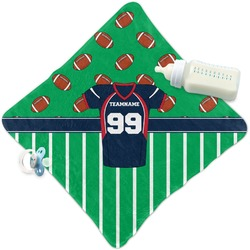 Football Jersey Security Blanket (Personalized)