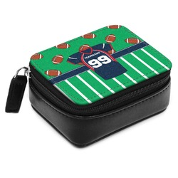 Football Jersey Small Leatherette Travel Pill Case (Personalized)
