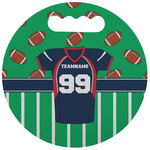 Football Jersey Stadium Cushion (Round) (Personalized)