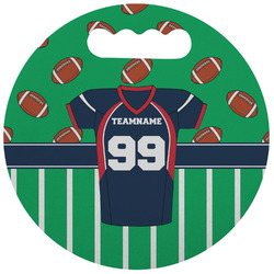 Football Jersey Stadium Cushion (Round) (Personalized)