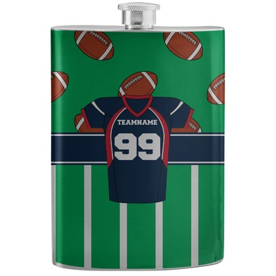 Football Jersey Stainless Steel Flask (Personalized)