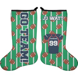 Football Jersey Holiday Stocking - Double-Sided - Neoprene (Personalized)