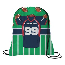 Football Jersey Drawstring Backpack (Personalized)