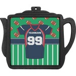 Football Jersey Teapot Trivet (Personalized)