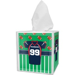 Football Jersey Tissue Box Cover (Personalized)