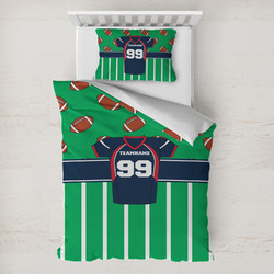 Football Jersey Toddler Bedding w/ Name and Number