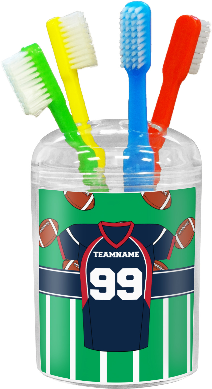 Football Jersey Bathroom Accessories Set (Personalized ...