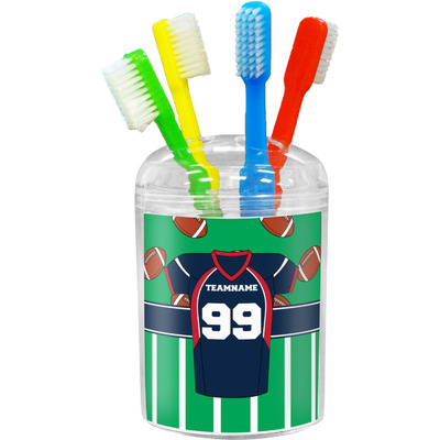 Football Jersey Toothbrush Holder (Personalized)