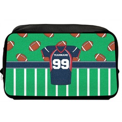Football Jersey Toiletry Bag / Dopp Kit (Personalized)