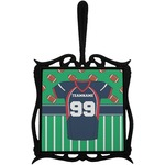 Football Jersey Trivet with Handle (Personalized)