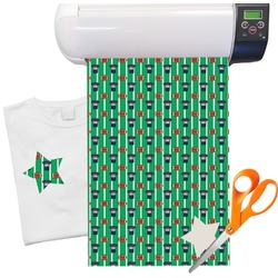 "Football Jersey Heat Transfer Vinyl Sheet (12""x18"")"