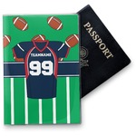 Football Jersey Vinyl Passport Holder (Personalized)