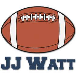 Football Jersey Graphic Decal - Custom Sized (Personalized)