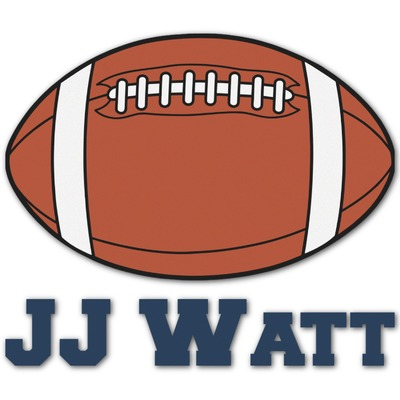 Football Jersey Graphic Decal - Custom Sizes (Personalized)
