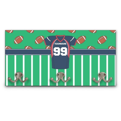Football Jersey Wall Mounted Coat Rack (Personalized)