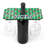 Football Jersey Wine Bottle & Glass Holder (Personalized)