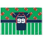 Football Jersey Woven Mat (Personalized)
