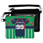 Football Jersey Wristlet ID Case w/ Name and Number