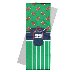 Football Jersey Yoga Mat Towel (Personalized)