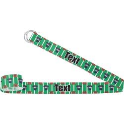Football Jersey Yoga Strap (Personalized)
