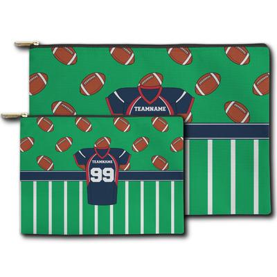 Football Jersey Zipper Pouch (Personalized)