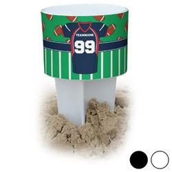 Football Jersey Beach Spiker Drink Holder (Personalized)