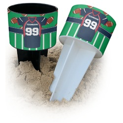 Football Jersey Beach Spiker Drink Holder (Personalized)