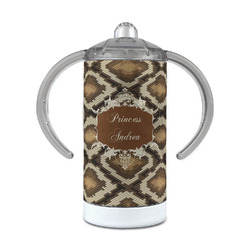 Snake Skin 12 oz Stainless Steel Sippy Cup (Personalized)
