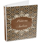 Snake Skin 3-Ring Binder (Personalized)