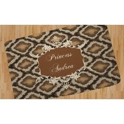 Snake Skin Area Rug (Personalized)