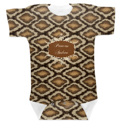 Snake Skin Baby Bodysuit (Personalized)