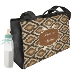 Snake Skin Diaper Bag (Personalized)