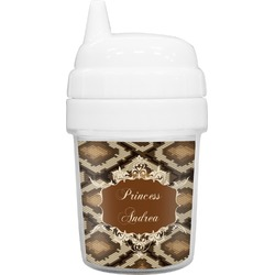 Snake Skin Baby Sippy Cup (Personalized)