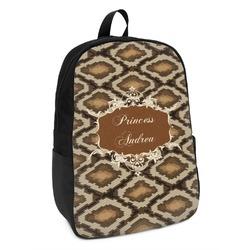 Snake Skin Kids Backpack (Personalized)