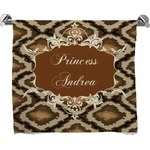 Snake Skin Full Print Bath Towel (Personalized)