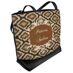 Snake Skin Beach Tote Bag (Personalized)