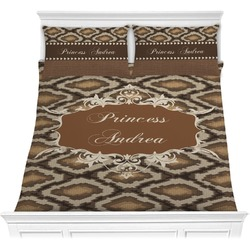 Snake Skin Comforter Set (Personalized)