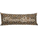 Snake Skin Body Pillow Case (Personalized)