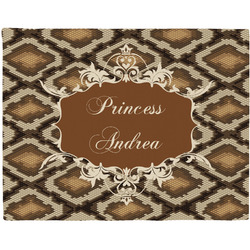 Snake Skin Placemat (Fabric) (Personalized)