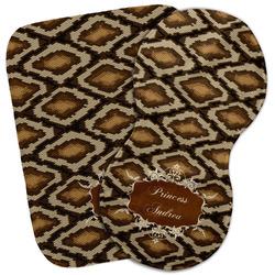 Snake Skin Burp Cloth (Personalized)