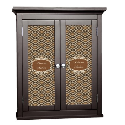 Snake Skin Cabinet Decal - Medium (Personalized)