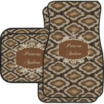 Snake Skin Car Floor Mats (Personalized)