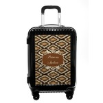 Snake Skin Carry On Hard Shell Suitcase (Personalized)
