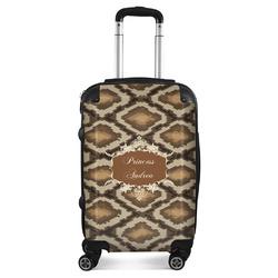 Snake Skin Suitcase (Personalized)