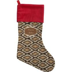 Snake Skin Christmas Stocking (Personalized)