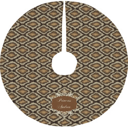 Snake Skin Tree Skirt (Personalized)